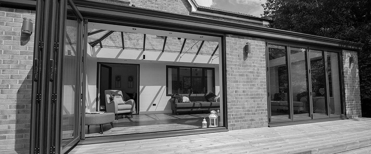bi-folding doors fitted