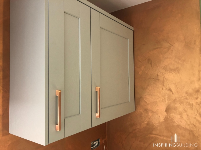 High Quality Copper Effect Wall Finish