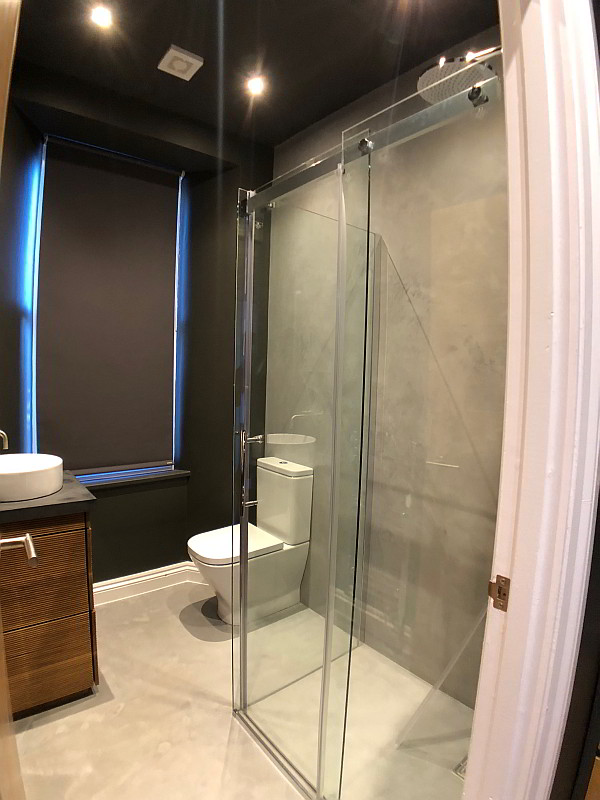 High Quality Beautiful Micro Cemented Bathrooms