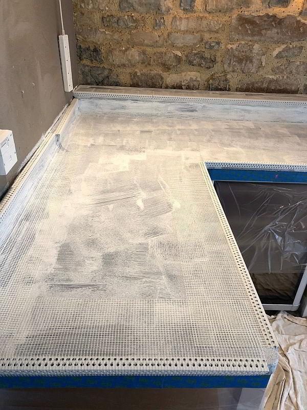 Microcement Worktops