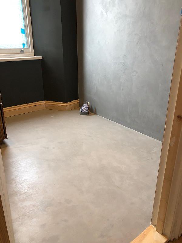 Microcemented Flooring