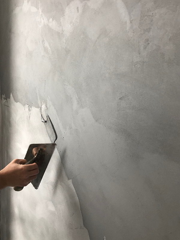 Microcementing for Walls